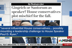 Is the GOP plotting a leadership challenge...