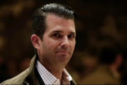 Amidst hurricane, Trump Jr. puts admin in...