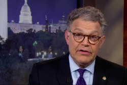 Sen. Al Franken fights back against Trump