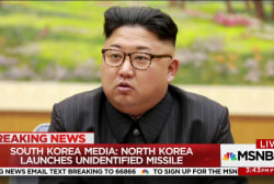 South Korea media: North Korea launches...