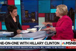 Clinton: Trump opened door to more misogyny