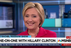 Clinton looking forward to political future