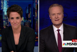 Lawrence, Maddow debrief on Clinton: 'This...