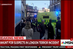 Manhunt on for suspects in London terror...