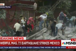 Mounting death toll in Mexico City earthquake