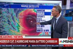 Millions threatened by Hurricane Maria