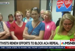 GOP health bill protesters make it personal