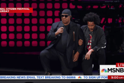 Stevie Wonder and more NFL players take a...