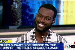 Kofi Siriboe on 'Queen Sugar,' 'Girls Trip...