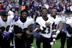 Divider in chief? NFL players protest POTUS
