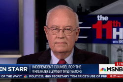 Ken Starr: Trump will be under oath before...