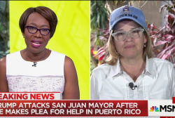San Juan mayor to Trump: No time for...