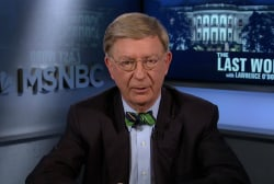 George Will: Trump is consistent – on...