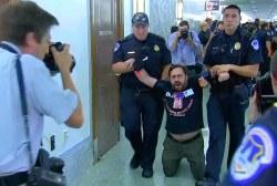 Police Arrest GOP Health Bill Protesters