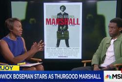 Boseman stars in dynamic Thurgood Marshall...