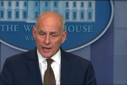 Watch for what John Kelly didn't say in...