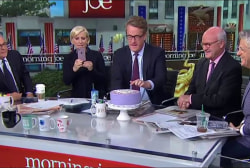 It's Mike Barnicle's birthday.
