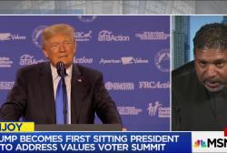 Rev. Barber on Values Voter Summit: 'Greed...