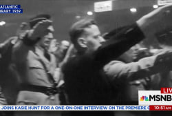 1939 Nazi rally in New York City captured...