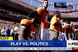 #TakeAKnee NFL protest controversy heats...