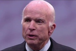 John McCain delivers 'incredible moment'...