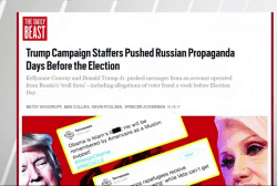 Daily Beast: Trump aides promoted Russian...
