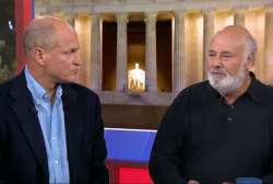 Woody Harrelson and Rob Reiner talk LBJ