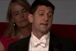 Paul Ryan shows off comedic chops roasting...
