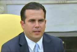 Puerto Rico governor: I answered Trump...
