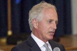 Trump aims new tweets at Bob Corker