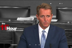 GOP Sen. Jeff Flake: Trump's behavior is ...