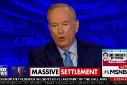 Bill O'Reilly settled harassment claim for...