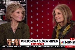 Jane Fonda and Gloria Steinem on Weinstein...