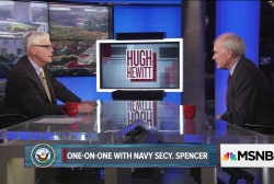 One on one with Navy Secretary Richard...