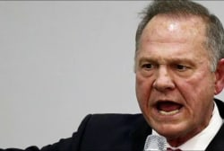 Alabama GOP continues to stand by Roy Moore