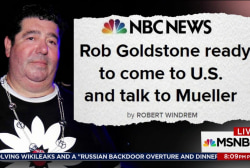 UK publicist Rod Goldstone set to talk to...