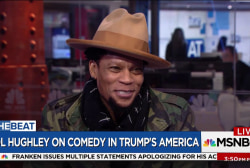 "DL Hughley on Trumps ""lies"""