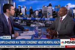 Jelani Cobb: Concerns about Trump's health...