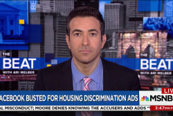 Melber to Zuckerberg: Discrimination is...