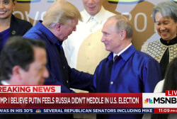 Trump compliments Putin & blasts fmr. U.S....