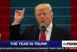 One year later, US sends Trump a message