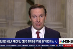 Sen. Chris Murphy: Election night was a...