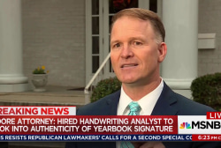 Moore attorney disputes yearbook handwriting