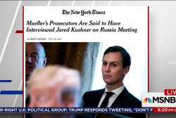 Kushner met with Special Counsel about Flynn