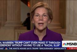 Sen. Warren on tax bill: it's...