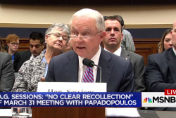 There's a lot Jeff Sessions can't recall
