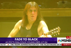 Kasie DC salutes AC/DC co-founder Malcolm...