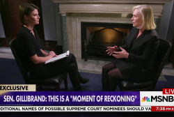 Sen. Gillibrand on her comments about Bill...