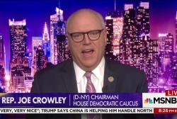 """Democratic Chair: """"Door is certainly wide..."""