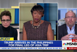 Trump meets controversial Philippines...